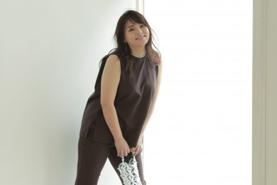 野呂佳代さん、マシュマロさん最強の「パンツセットアップ」で素敵見え!