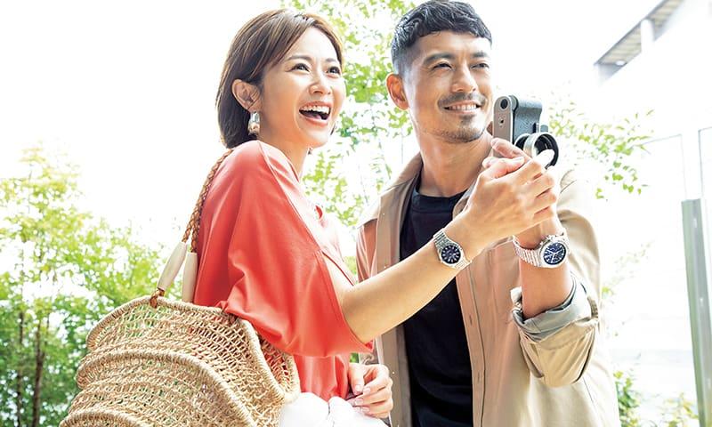 畑野ひろ子さん夫妻主演!「夫婦のセカンドステージ」は名品WATCHが盛り上げる!