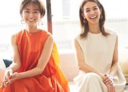 「普通の主婦が人気モデルになるまで」稲沢朋子さん×クリス-ウェブ 佳子さん対談<br>【イナトモWEB Vol.23】