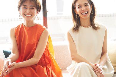 「普通の主婦が人気モデルになるまで」稲沢朋子さん×クリス-ウェブ 佳子さん対談【イナトモWEB Vol.23】
