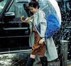 「レインコート×ハーフパンツ×レインブーツ」のカジュアル雨コーデ新提案[7/4 Sun.]