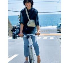 【私物公開】長谷川理恵さん愛用中!地元映えするユニクロデニムはコレ
