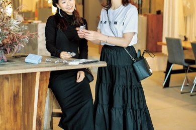 名古屋起業家読者の「大人可愛いパワー服コーデ」見せます!