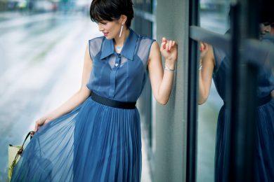 吉瀬美智子さんが「新しい私」を表現するために見つけた5つのオシャレ
