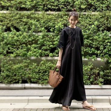 黒×黒 で重ね着   武藤京子ブログ