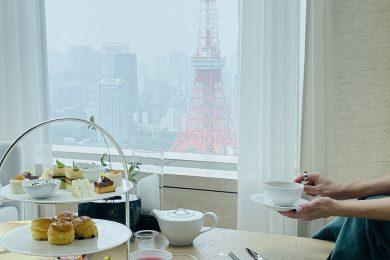 ライターお気に入りホテルの夏らしいアフタヌーンティーを堪能!