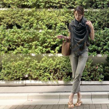 NEW IN のパンツと買ってすぐにSALEになった ストール   武藤京子ブログ