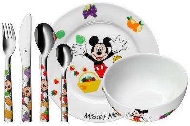 贈り物にも最適なWMF(ヴェーエムエフ)「Disney ミッキーマウス カトラリー6Pセット」を2名様にプレゼント!