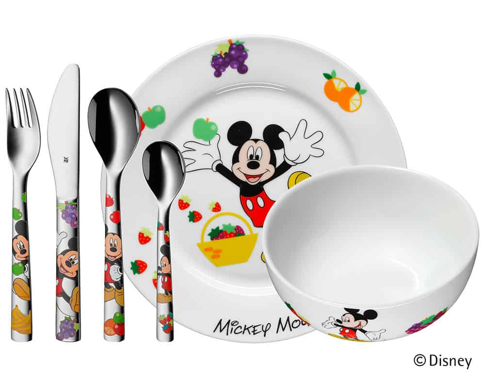 Disney ミッキーマウス カトラリー6Pセット