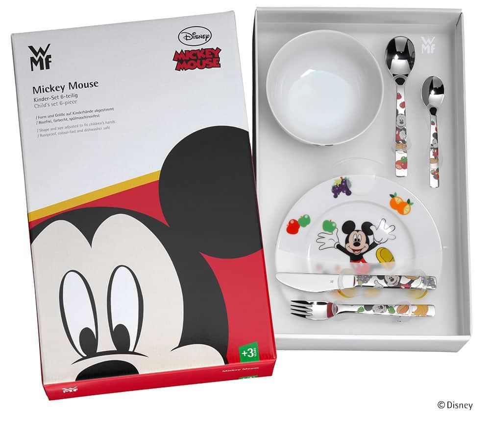 箱入りDisney ミッキーマウス カトラリー6Pセット
