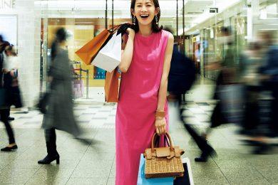 お買い物だけじゃない!進化した【立川】を旬のオシャレで高垣麗子さんが満喫