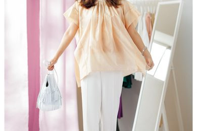 Sサイズさん必見★HARUKOさんが着る体型生かしアイテム&コーデ3選