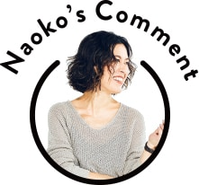 Naoko's Comment