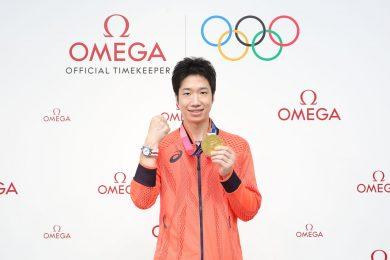 オメガが金メダルを祝福!ソフトボール 上野選手、卓球 水谷選手、フェンシング男子エペ団体に腕時計を贈呈