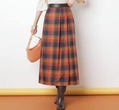 断然今年っぽい!秋冬に着たい「大人スカート×ブーツ」9選【ここから買えます】