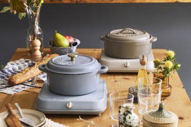 BRUNOからいつもの食卓が映える 「IHクッキングヒーター&カラー鍋」が新登場!