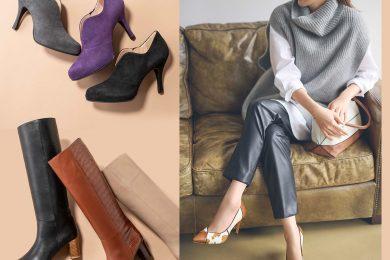 大人に自信をくれる「1足の靴」から、 秋オシャレがRe:スタートします!