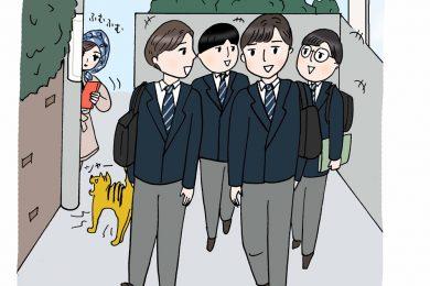 【中学受験㉓】志望校の登下校の時間に行ってみましょう