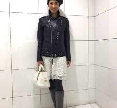 芳川あずささんの5月号「いりえレガンス」撮影に密着!