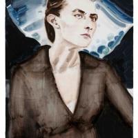 『エリザベス ペイトン:Still life 静/生』と、原美術館。