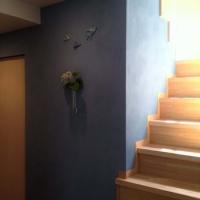 壁、塗りました!