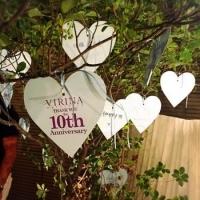 全ての女性へ ~ 愛にあふれたVIRINA10周年パーティー